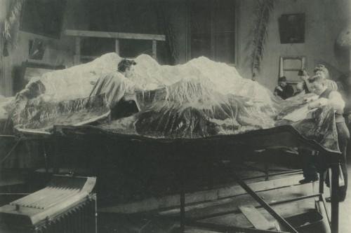 Reliëf van de Jungfraugruppe - Stockmann-Archiv. Sarnen.