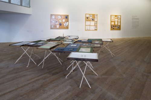 Selective Memory: Artists in the archive. Glucksman Gallery, UCC. Photo by Tomas Tyner, UCC.